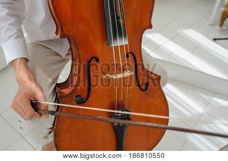 Beautiful Vintage Old Cello