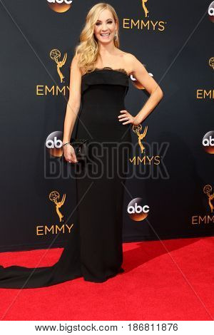 LOS ANGELES - SEP 18:  Joanne Froggatt at the 2016 Primetime Emmy Awards - Arrivals at the Microsoft Theater on September 18, 2016 in Los Angeles, CA