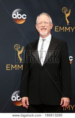 LOS ANGELES - SEP 18:  Robert Schenkkan at the 2016 Primetime Emmy Awards - Arrivals at the Microsoft Theater on September 18, 2016 in Los Angeles, CA