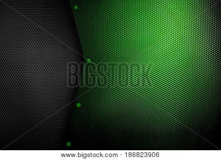 green metal mesh background