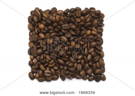 Coffee Beans Square Shape