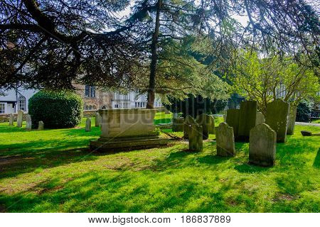 Rye cemetery is located in Rye Hill  in East Sussex, England