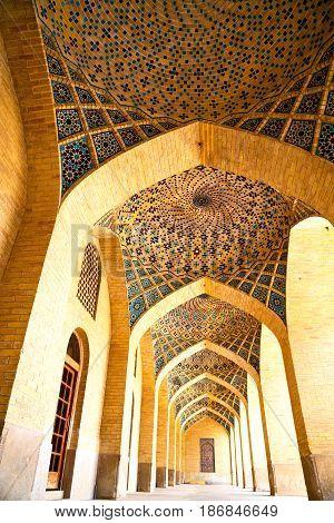 In Iran Shiraz The Corridor Passage