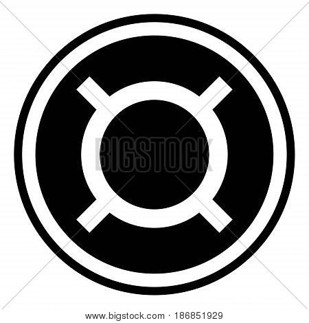 Generic currency symbol icon coin vector symbol generic currency