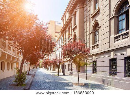 Barrio Paris-londres In Santiago, Chile