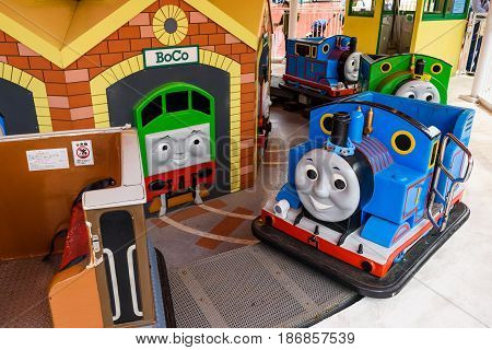 Thomas And Percy Playing Machine