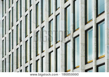 Modern Building Facade Detail ,  Architectural Pattern