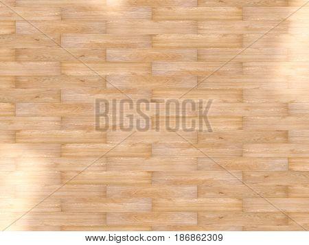 wooden floor or parquet floor top view