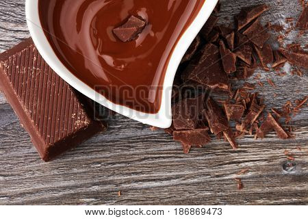 Melting Chocolate / Melted Chocolate/ Chocolate Swirl/ Stack/ Ch