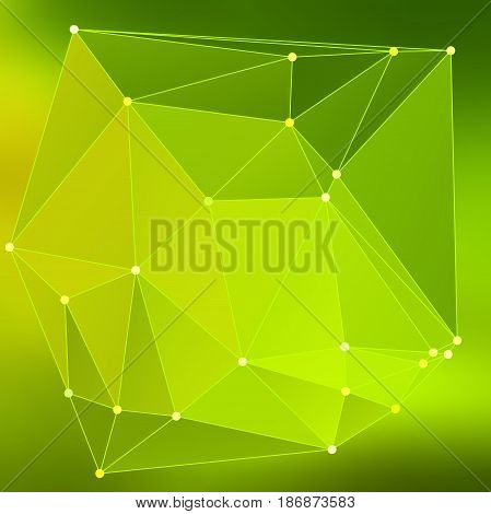 Modern Abstract Background Triangles 3D Effect Glowing Light98