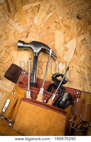 Tool belt home improvement construction equipment home maintenance repair repairs hand tools