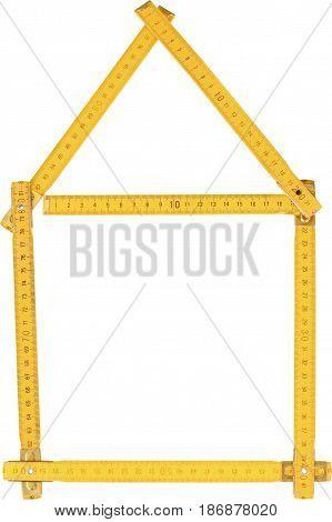 Tape measure inches measuring tape tape measurer construction home repair instrument of measurement