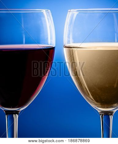 Wine white wine glasses of wine stemware drinks alcoholic beverages red wine