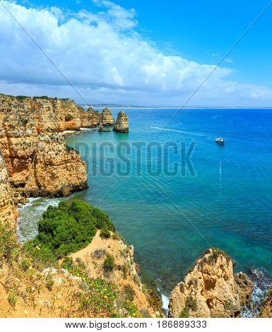 Ponta Da Piedade Cape (lagos, Algarve, Portugal).