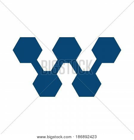 W letter business vector logo design. W name company or brand name.