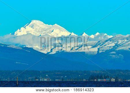 Taken from across Skagit Valley Washington State
