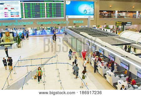 Don Mueang Airport. Bangkok, Thailand