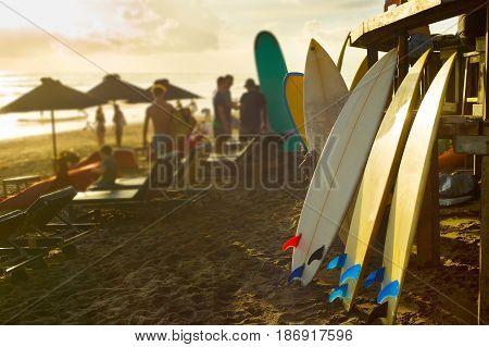 Bali Surfers Rental Of Surfboards
