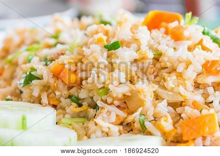 Delicious Fried Rice Thai Style