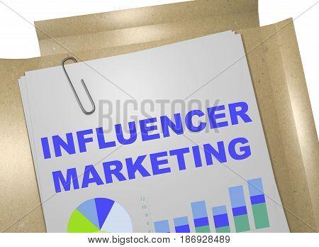 Influencer Marketing - Business Concept