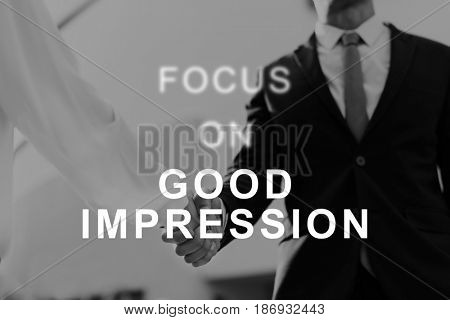 Good Impression Business Meet Interview Communication