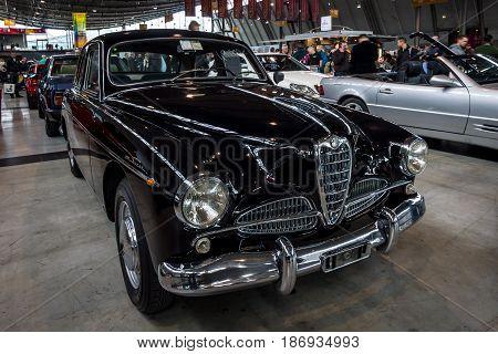 STUTTGART GERMANY - MARCH 03 2017: Full-size car Chrysler Royal Windsor 1940. Europe's greatest classic car exhibition