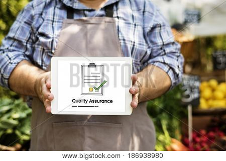 Best Quality Guarantee Assurance Concept