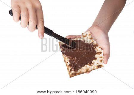 Chocolate On Matzah