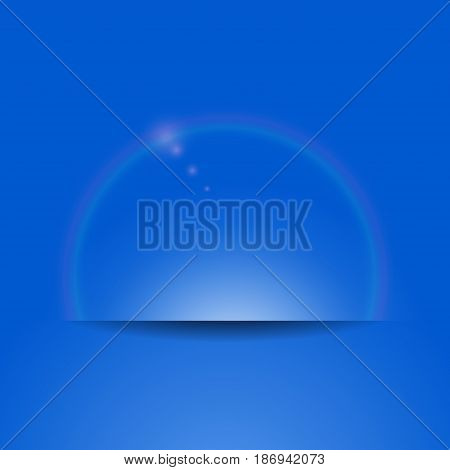 Bubble On White Background Isolated Object Abstract