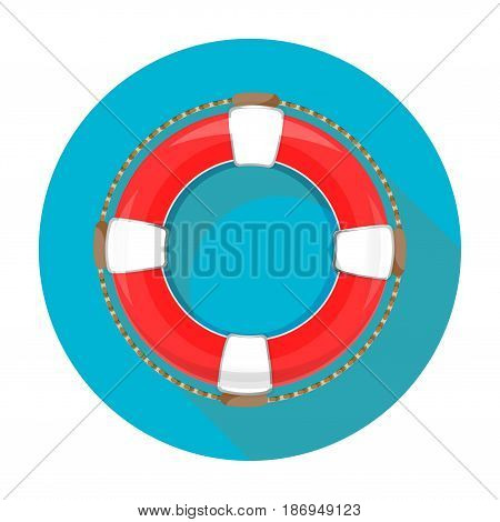 App Icon Lifebuoy On White Background Isolated Object Abstract