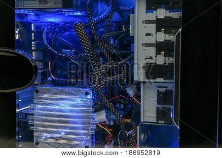 Illuminated Computer Hardware