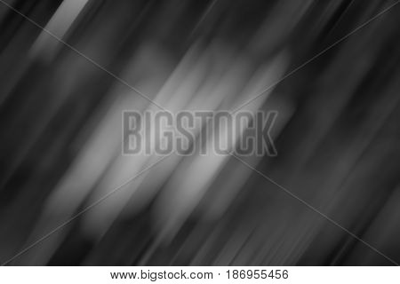 Dark gray black and white tones abstract soft blur background