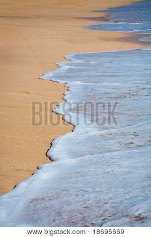 Tropical sand beach  background  , nice background for your projects