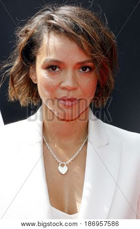 Carmen Ejogo at the Los Angeles special screening of 'Alien: Covenant' held at the TCL Chinese Theatre IMAX in Hollywood, USA on May 17, 2017.
