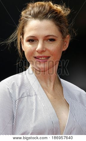 Amy Seimetz at the Los Angeles special screening of 'Alien: Covenant' held at the TCL Chinese Theatre IMAX in Hollywood, USA on May 17, 2017.