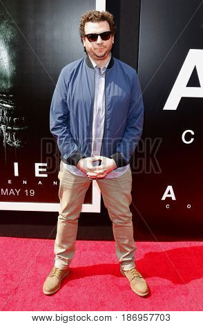 Danny McBride at the Los Angeles special screening of 'Alien: Covenant' held at the TCL Chinese Theatre IMAX in Hollywood, USA on May 17, 2017.