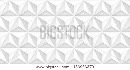 Vector triangles retro gray background, mesh gradient, geometric wallpaper, light pattern