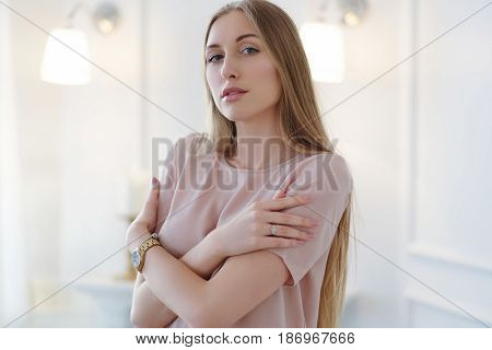 Beauty. Woman with beautiful face