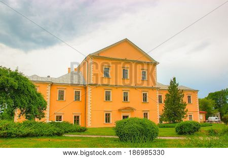Old reconstructed Castle in the Ternopil. Ukraine