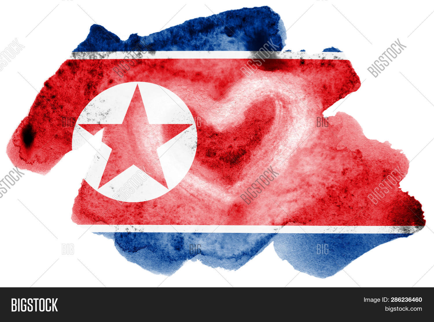 North Korea Flag Image & Photo (Free Trial) | Bigstock