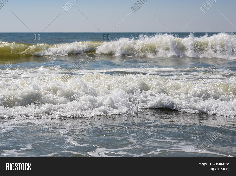 Sea, Sand ,sky, Waves Image & Photo (Free Trial) | Bigstock
