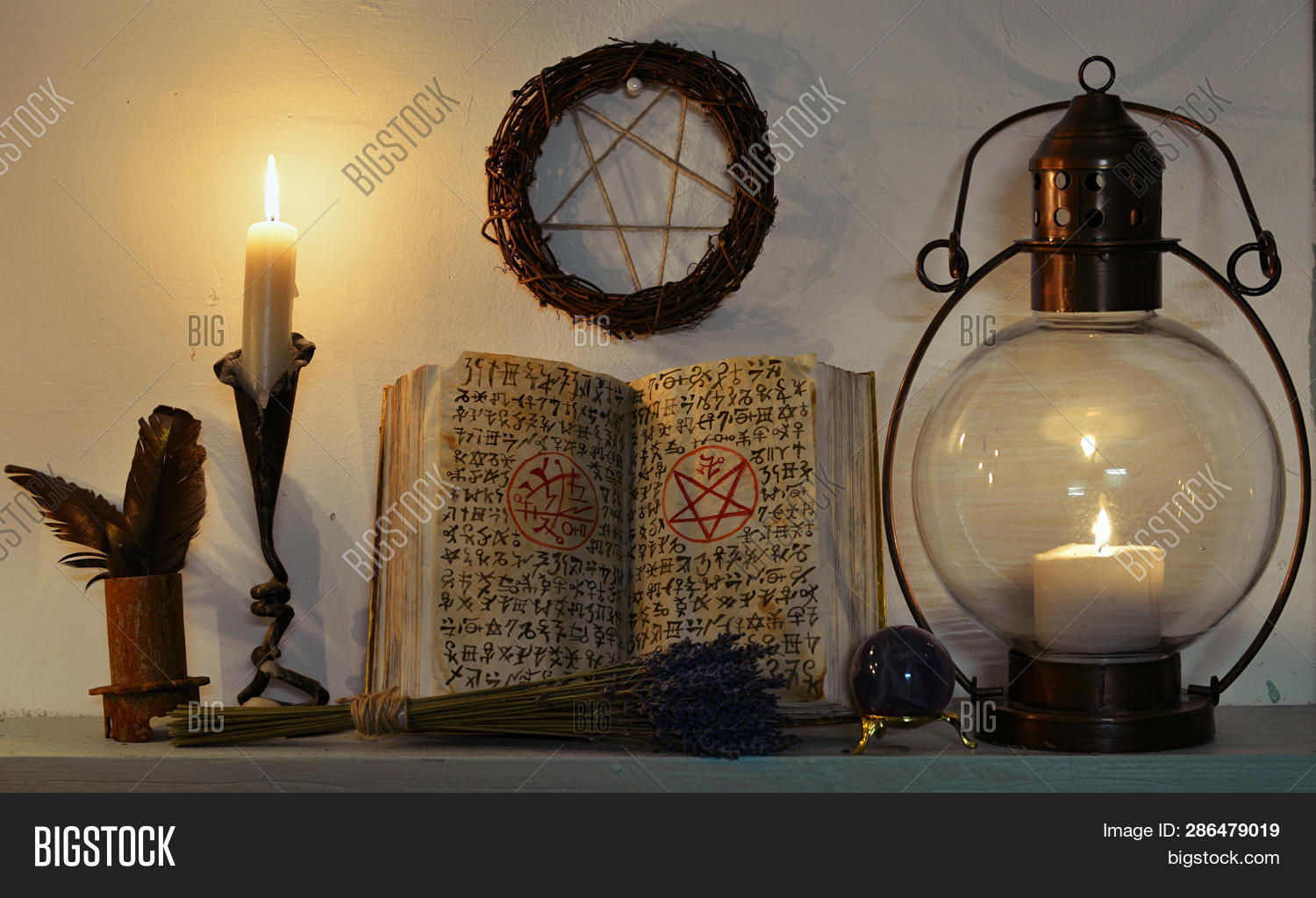 Open Witch Book Spells Image & Photo (Free Trial) | Bigstock