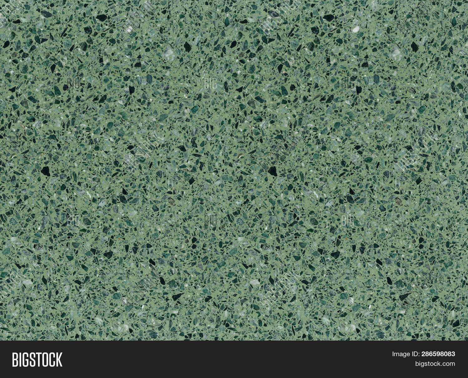 Green Mottled Terrazzo Image Photo Free Trial Bigstock