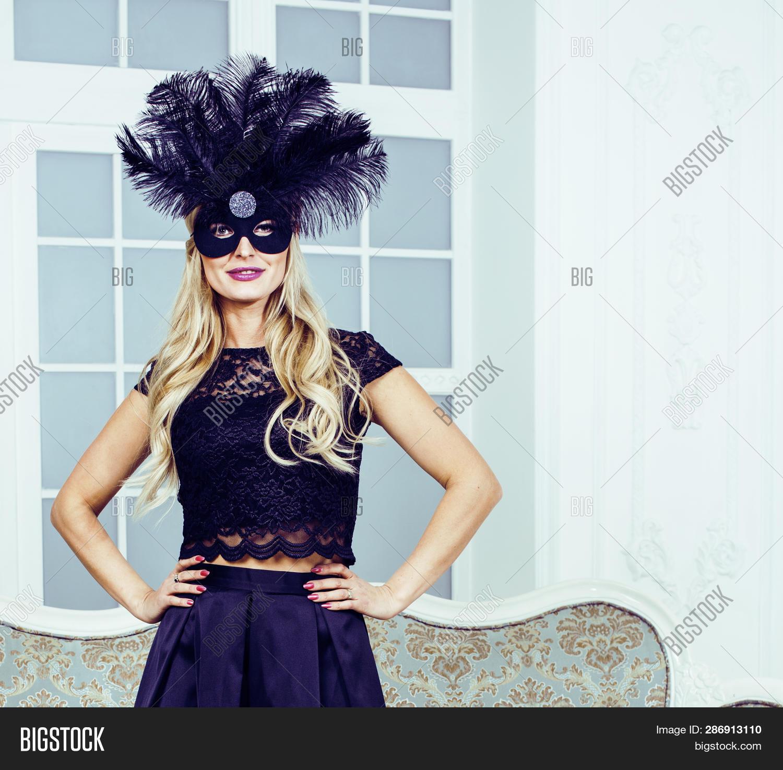 Pretty Blond Woman Image Photo Free Trial Bigstock