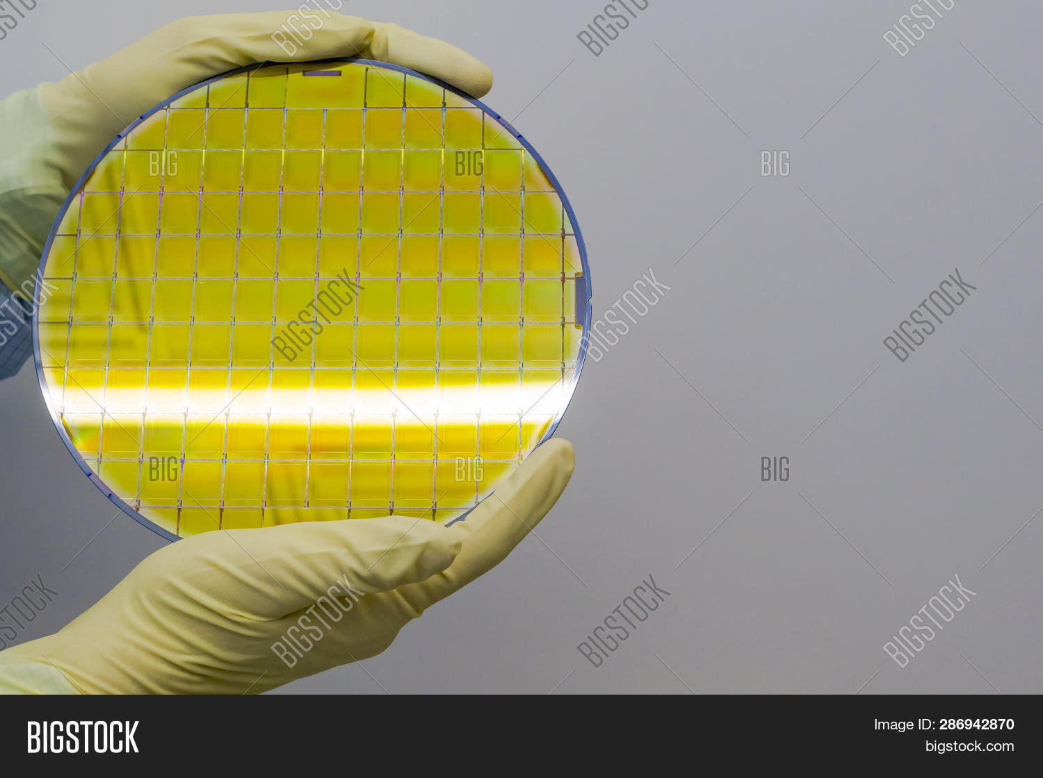 Silicon Wafer Held Image & Photo (Free Trial) | Bigstock