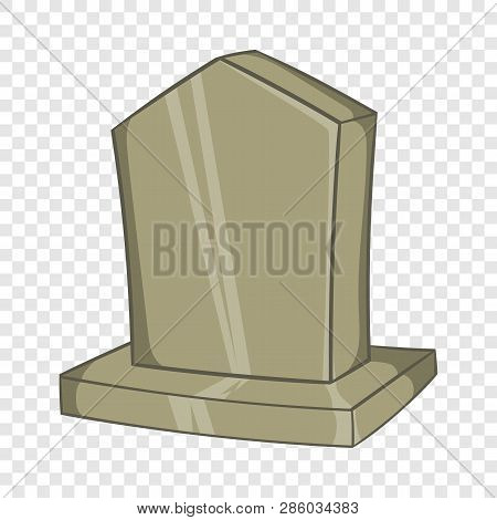 Sepulchral Monument Icon In Cartoon Style Isolated On Background For Any Web Design