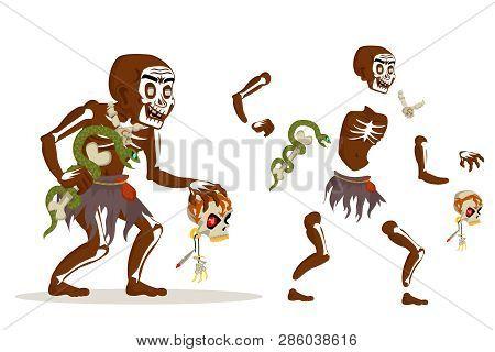Shaman African Voodoo Witchcraft Hoodoo Dungeon Dark Wood Evil Minion Fantasy Medieval Action Rpg Ga