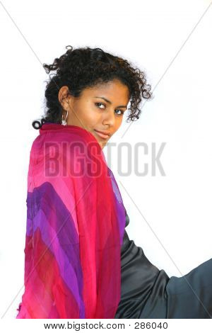 Colourful Shawl