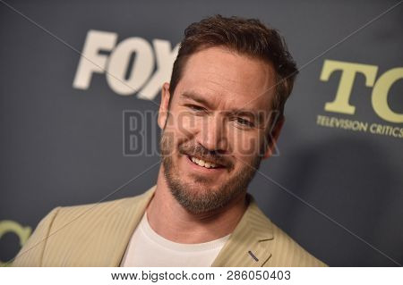 LOS ANGELES - FEB 06:  Actor Mark-Paul Gosselaar arrives for the FOX Winter TCA 2019 on February 6, 2019 in Los Angeles, CA