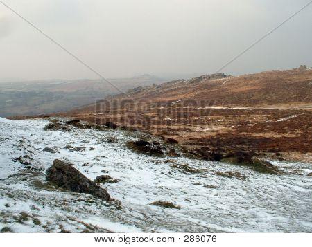 Snow On Dartmoor